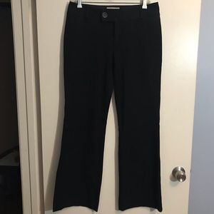 "Banana Republic black ""Jackson Fit"" pants, size 6"